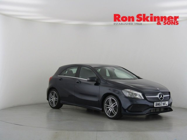 View our 2018 67 MERCEDES-BENZ A CLASS 1.5 A 180 D AMG LINE 5d 107 BHP
