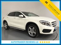 USED 2016 16 MERCEDES-BENZ GLA-CLASS 2.1 GLA 200 D AMG LINE EXECUTIVE 5d AUTO 134 BHP FULL MERCEDES HISTORY - 1 OWNER - EURO 6 - SAT NAV - CAMERA - LEATHER - AIR CON - BLUETOOTH - CRUISE