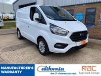 USED 2018 18 FORD TRANSIT CUSTOM 2.0 (EURO 6) 300 LIMITED P/V L1 H1 1d 130 BHP 1 OWNER - MANUFACTURERS WARRANTY