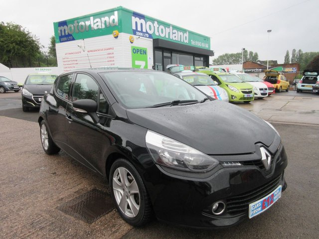 USED 2014 64 RENAULT CLIO 1.5 EXPRESSION PLUS ENERGY DCI S/S 5d 90 BHP **FREE ROAD TAX**SERVICE HISTORY**