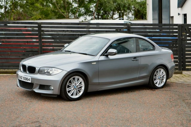2010 E BMW 1 SERIES 2.0 118D M SPORT 2d 141 BHP COUPE SPACE GREY
