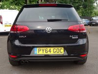 USED 2015 64 VOLKSWAGEN GOLF 2.0 GT TDI BLUEMOTION TECHNOLOGY 5d 148 BHP GT TECHNOLOGY 150BHP
