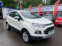 USED 2014 64 FORD ECOSPORT 1.5 TITANIUM TDCI 5d 88 BHP 0%  FINANCE AVAILABLE ON THIS CAR PLEASE CALL 01204 393 181