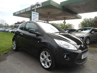 USED 2015 15 FORD KA 1.2 TITANIUM 3d 69 BHP ONE OWNER FROM NEW