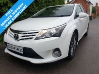 USED 2015 15 TOYOTA AVENSIS 1.8 PETROL  ICON BUSINESS EDITION ESTATE - FULL SERVICE HISTORY - ULEZ COMPLIANT,SATELLITE NAVIGATION, BLUETOOTH, DAB RADIO