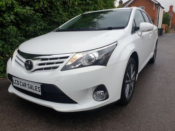 2015 TOYOTA AVENSIS 1.8 PETROL  ICON BUSINESS EDITION ESTATE - FULL SERVICE HISTORY - ULEZ COMPLIANT,  £12990.00