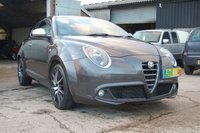 USED 2013 63 ALFA ROMEO MITO 875cc TURBO TWINAIR 105 BHP SPORTIVA FREE ROAD TAX 70 MPG WARRANTY FINANCE EXCELLENT CONDITION BLUETOOTH MP3 USB