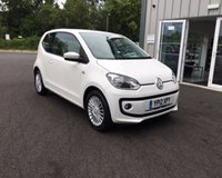 USED 2012 12 VOLKSWAGEN UP 1.0 HIGH UP 3d THIS VEHICLE IS AT SITE 1 - TO VIEW CALL US ON 01903 892224