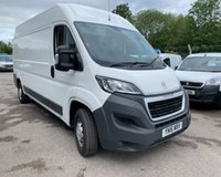 USED 2016 16 PEUGEOT BOXER 2.2 HDI 335 L3H2 PROFESSIONAL P/V 1d 130 BHP IMMACULATE PROFESSIONAL MODEL