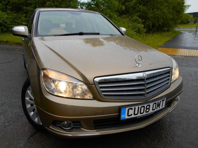 2008 08 MERCEDES-BENZ C CLASS 2.1 C220 CDI ELEGANCE 4d AUTO 168 BHP ** ONE PREVIOUS OWNER ,DIESEL, AUTOMATIC, 9 SERVICE STAMPS , 2 KEYS, ABSOLUTELY PRISTINE THROUGHOUT **