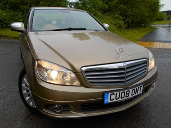 2008 MERCEDES-BENZ C CLASS 2.1 C220 CDI ELEGANCE 4d AUTO 168 BHP ** ONE PREVIOUS OWNER ,DIESEL, AUTOMATIC, 9 SERVICE STAMPS , 2 KEYS, ABSOLUTELY PRISTINE THROUGHOUT **  £4995.00