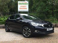 USED 2016 16 DS DS 4 1.6 BLUEHDI ELEGANCE S/S 5dr £0 Tax, Sat Nav, Cruise, FSH