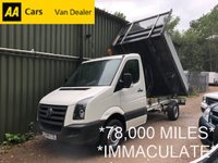 USED 2009 59 VOLKSWAGEN CRAFTER 2.5 CR35 BLUE TDI 1d 108 BHP*TIPPER*IMPECCABLE CONDITION*