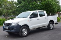 USED 2014 64 TOYOTA HI-LUX 2.5 ACTIVE 4X4 D-4D DCB 1d 142 BHP