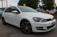 USED 2013 63 VOLKSWAGEN GOLF 2.0 GT TDI BLUEMOTION TECHNOLOGY 5d 148 BHP REVERSE CAMERA - ALLOY WHEELS - SAT NAV - COLOUR SCREEN DISPLAY - FRONT AND REAR PARKING SENSORS