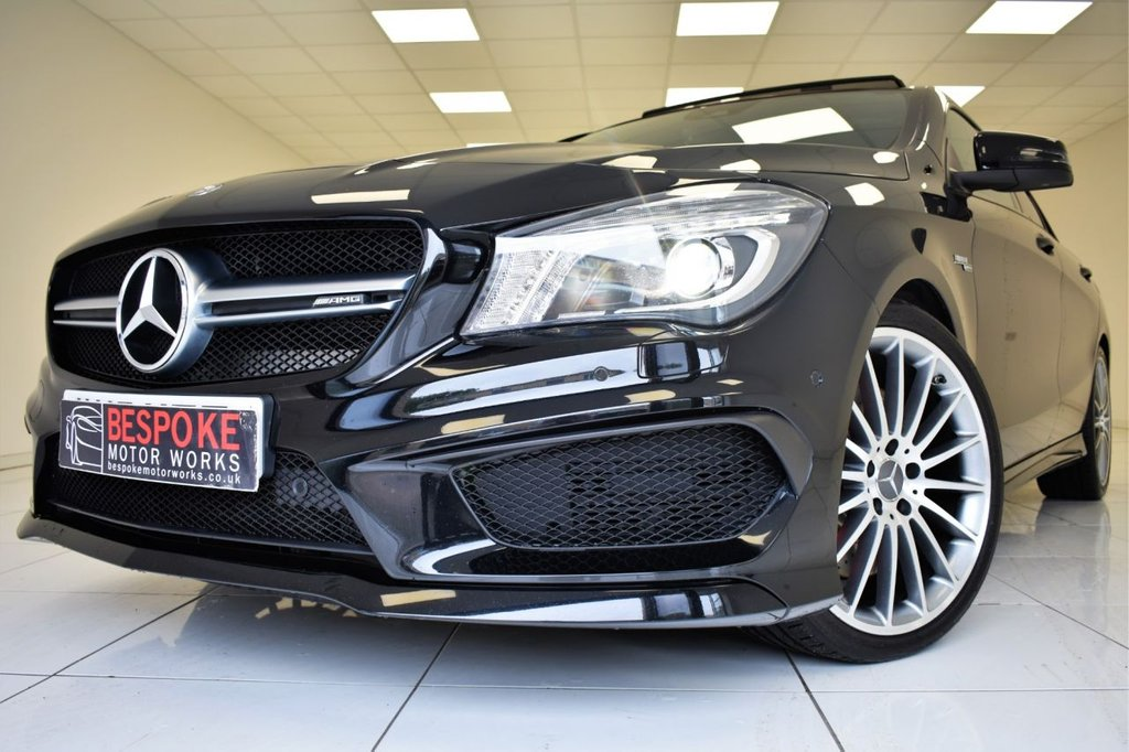 USED 2015 15 MERCEDES-BENZ CLA 45 AMG 4MATIC AUTOMATIC