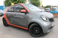 USED 2015 64 SMART FORFOUR 1.0 EDITION1 5d 71 BHP MERC SERVICE HISTORY - FREE ROAD TAX - REVERSE CAMERA - SAT NAV - BLUETOOTH - AUTO LIGHTS AND WIPERS - CRUISE