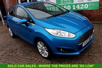 USED 2013 13 FORD FIESTA 1.5 ZETEC TDCI 5d 74 BHP +JUST SERVICED +MOT JUNE 2020