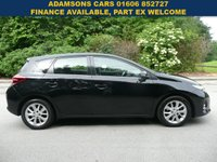 USED 2014 63 TOYOTA AURIS 1.6 ICON VALVEMATIC 5d 130 BHP Full Service History,Excellent Car,New Mot,Rear Camera,Two Keys