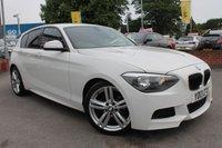 USED 2013 13 BMW 1 SERIES 2.0 118D M SPORT 5d 141 BHP ALLOY WHEELS - 5 DOOR MODEL - HUGE MPG - £30 ROAD TAX - LOW RATE FINANCE OPTIONS