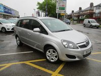 USED 2013 13 VAUXHALL ZAFIRA 1.6 EXCLUSIV 5d 113 BHP 1 Owner & Full Service History