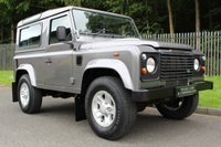 USED 2007 57 LAND ROVER DEFENDER 2.4 90 COUNTY STATION WAGON 3d 122 BHP A LOW OWNER, LOW MILEAGE DEFENDER WITH SERVICE HISTORY!!!