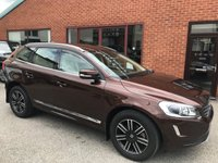 "USED 2015 65 VOLVO XC60 2.4 D5 SE LUX NAV AWD 5DOOR 217 BHP DAB      :      Sat Nav      :      USB & AUX      :      Auto Headlights      :      Car Hotspot / WiFi      Cruise Control      :      Bluetooth      :      Heated Front Seats      :      Electric Front Seats      Full Beige Leather Upholstery         :         Automatic Tailgate         :         Rear Parking Sensors       18"" Alloy Wheels   :   Service History"