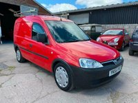 USED 2007 56 VAUXHALL COMBO VAN 1.7 1700 CDTI SWB H/C 1d 101 BHP CAR DERIVED VAN
