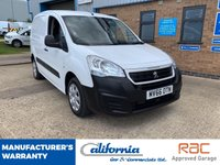 USED 2016 66 PEUGEOT PARTNER 1.6 (EURO 6) HDI S L1 850 1d 92 BHP EURO 6 ULEZ COMPLIANT