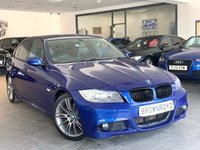 USED 2011 60 BMW 3 SERIES 2.0 318D SPORT PLUS EDITION 4d 141 BHP SAT NAV+ BLACK LEATHER+FSH