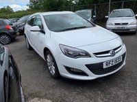 USED 2013 VAUXHALL ASTRA 2.0 SE CDTI S/S 5d 163 BHP FREE 12 MONTH AA ROADSIDE RECOVERY INCLUDED