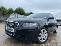 USED 2007 AUDI A3 1.9 TDI SE 3d 103BHP 2KEYS+12 MONTHS MOT+MEDIA+CD+