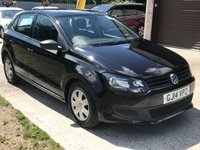 USED 2014 14 VOLKSWAGEN POLO 1.2 S A/C 5d 60 BHP FULL VOLKSWAGEN SERVICE HISTORY