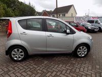 USED 2009 59 VAUXHALL AGILA 1.2 DESIGN 5d 85 BHP Excellent condition with very low mileage and a comprehensive service history