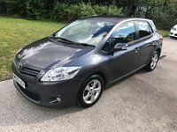 USED 2010 10 TOYOTA AURIS 1.6 TR VALVEMATIC MM 5d AUTO 132 BHP AUTOMATIC + FULL SERVICE HISTORY