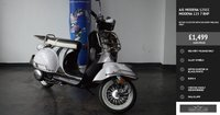 USED 2019 19 AJS MODENA 125cc MODENA 125 7 BHP RETRO SCOOTER WITH DELIVERY MILEAGE ONLY