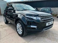 USED 2014 14 LAND ROVER RANGE ROVER EVOQUE 2.2 SD4 PURE TECH 5d AUTO 190 BHP WARRANTY FINANCE EXCELLENT MOT SAT NAV CRUISE AWD FSH Pictures