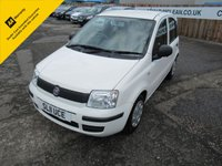 USED 2011 11 FIAT PANDA 1.2 ACTIVE 5STR 5d 69 BHP
