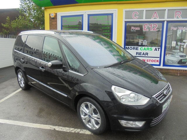USED 2012 62 FORD GALAXY 1.6 TITANIUM X TDCI 5d 115 BHP 7 SEATER DIESEL JUST ARRIVED