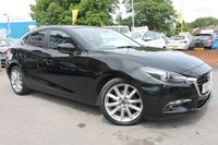 USED 2017 67 MAZDA 3 2.2 D SPORT NAV 4d 148 BHP JUST ONE OWNER - FULL SERVICE HISTORY - LOW MILES - MEGA SPECIFICATION - ALLOY WHEELS - £20 ROAD TAX