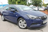 USED 2017 17 VAUXHALL ASTRA 1.6 TECH LINE CDTI ECOFLEX S/S 5d 108 BHP FRONT AND REAR PARKING SENSORS WTIH SCREEN DISPLAY - ALLOY WHEELS - SAT NAV - BLUETOOTH - ALLOYS - 1 OWNER