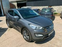 USED 2014 14 HYUNDAI SANTA FE 2.2 PREMIUM SE CRDI 5d AUTO 194 BHP WARRANTY FINANCE EXCELLENT NAV CRUISE LEATHER SUNROOF