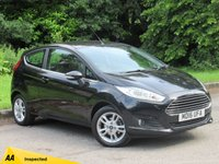 USED 2016 16 FORD FIESTA 1.2 ZETEC 3d 81 BHP FANTASTIC LOW MILEAGE STARTER CAR