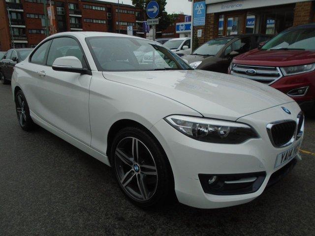 2014 14 BMW 2 SERIES 2.0 220D SPORT 2d 181 BHP ULEZ EXEMPT