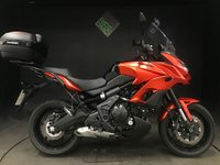 USED 2016 16 KAWASAKI VERSYS KLE 650 FGF ABS. 2016. FSH. 3363 MILES. COLOUR CODED TOP BOX. VERY TIDY BIKE
