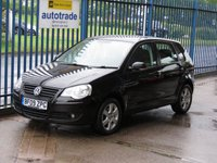 2009 VOLKSWAGEN POLO 1.4 MATCH 5d AUTO Air con Alloys Fogs £5295.00