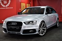 USED 2015 15 AUDI A4 2.0 AVANT TDI QUATTRO BLACK ED PLUS 5d 174 BHP