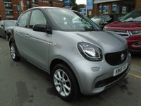 USED 2016 16 SMART FORFOUR 1.0 PASSION 5d 71 BHP ULEZ EXEMPT ONLY 23,000 MILES!
