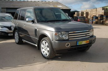 2003 LAND ROVER RANGE ROVER 3.0 TD6 AUTOMATIC VOGUE FULL HEATED LEATHER TOW BAR £SOLD