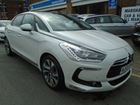 USED 2013 63 CITROEN DS5 2.0 HDI DSPORT 5d AUTO 161 BHP SAT NAV, MASSAGE SEATS